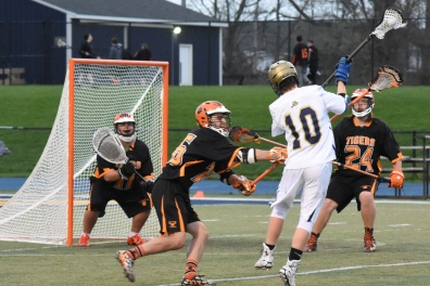 Cam Breining takes a shot