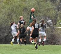 Natasha McElrath makes a great save