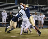 Travis Frazier & Ronnie Buford combine for a sack
