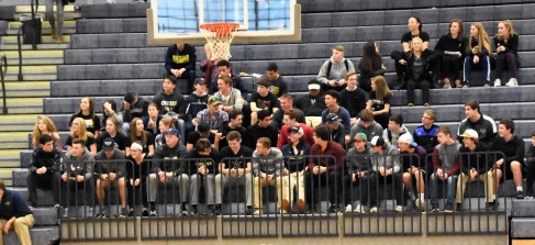 THe Chelsea student section came out strong in support of their classmates