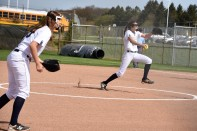 Peighton Root dueled sharply in game 1 against DExter