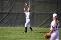 Sydnee Liedel makes the catch in centerfield