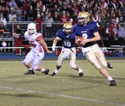 Jack Bush takes off with the ball in the district championship game