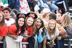 It was Disney Theme night for the Bulldog fans