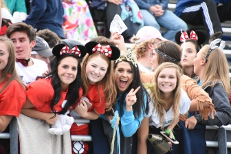 It was Disney Theme night for the Bulldog fans